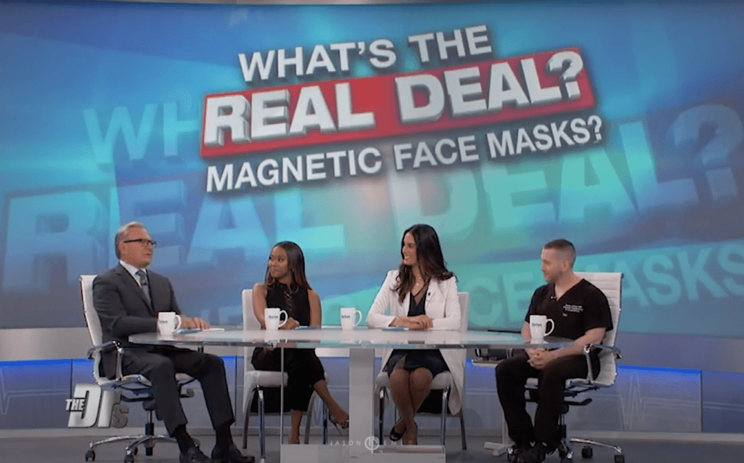 THE DOCTORS SHOW – MAGNETIC MASKS